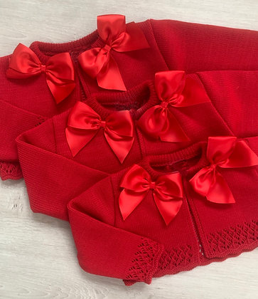 Red Bow Bolero