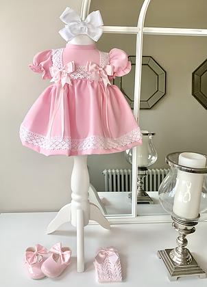 Lottie short Style Dress Pink