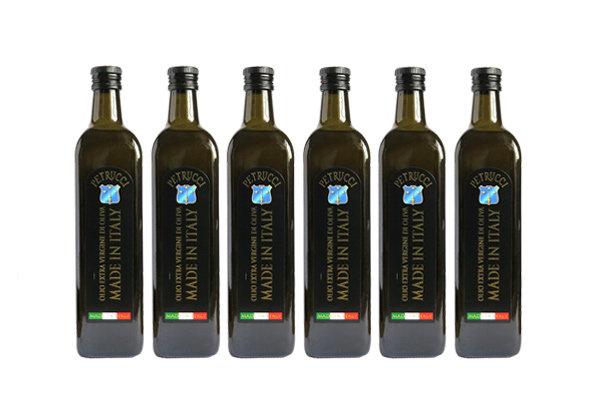 6 Bottiglie Extravergine Petrucci da 750 ml