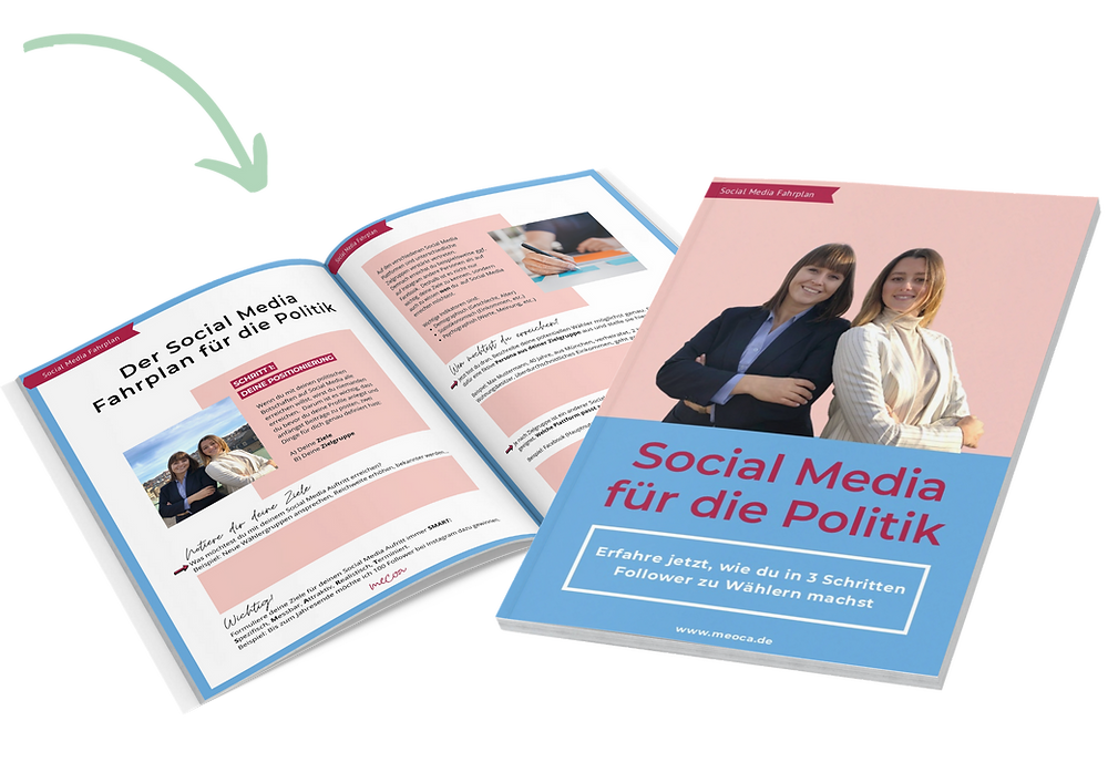 Mockup von unserem Social Media PDF-Fahrplan