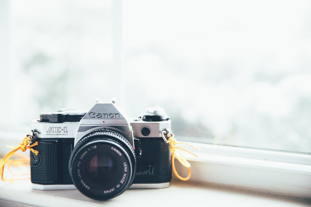 Kamera zum Content kreieren