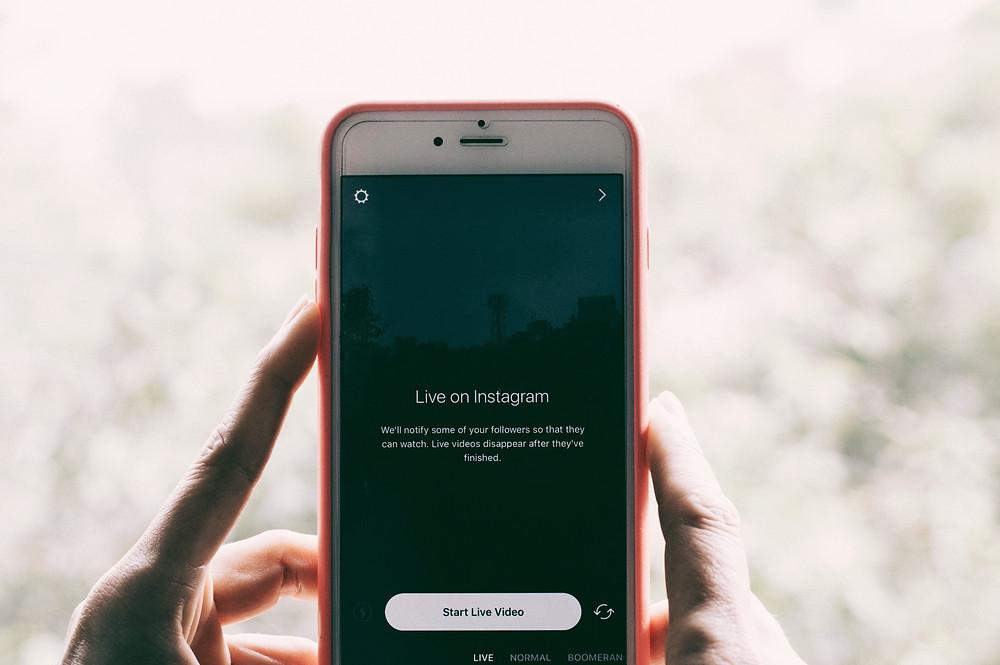 Bild von Instagram Livestream