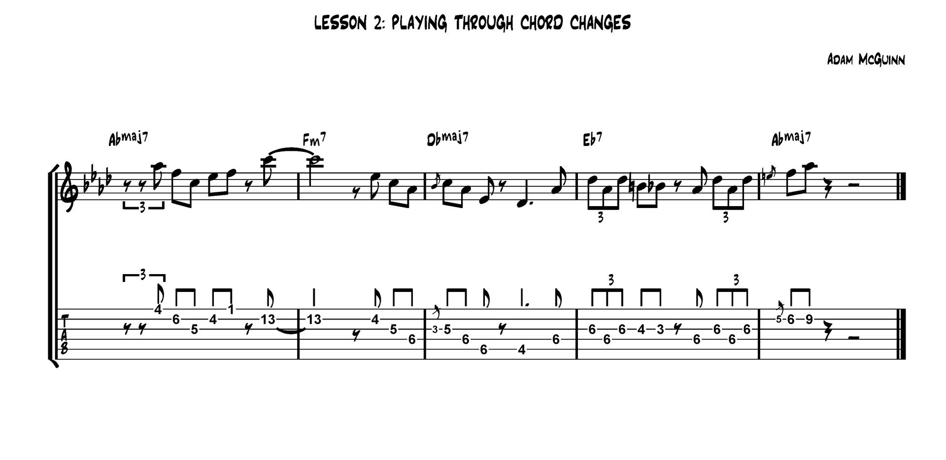 Insta-Licks: (playing through