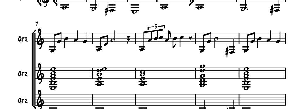 Classical Gas (Guitar Ensemble)