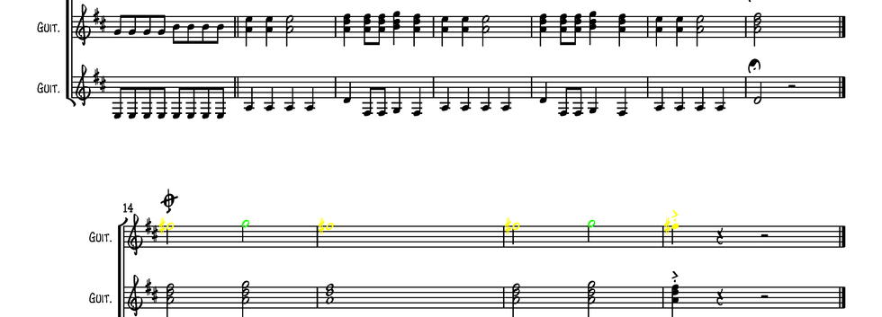 Highway To Hell (Guitar Ensemble)