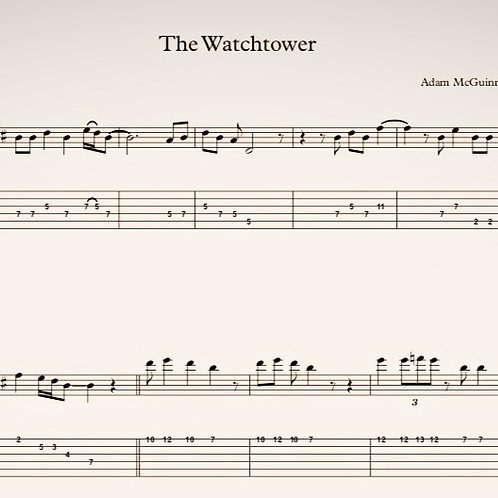 The Watchtower (Tabs)