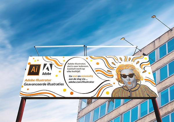 outdoor banner Illustrator