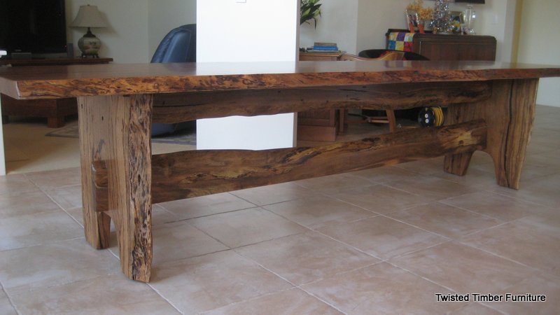 3.5 Meter Marri Dining Table