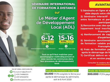THEME : LE METIER D'AGENT DE DEVELOPPEMENT LOCAL