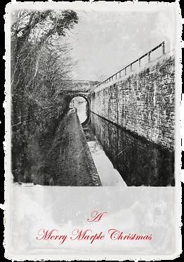Marple Xmas Collection - Canal Walkway and Bridge