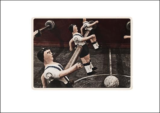 Antique Bar Football #1 - A3 Fine Art Print