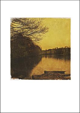 The Roman Lakes #2- A3 Fine Art Print