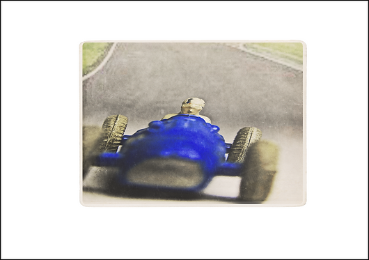 The Racing Driver- A3 Fine Art Print