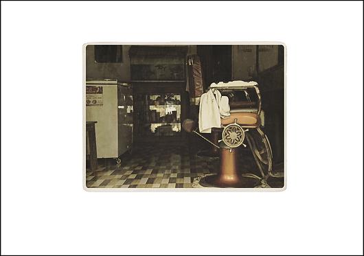 Barbers Chair - A3 Fine Art Print