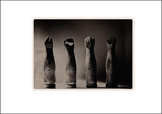Hands of Love - A3 Fine Art Print
