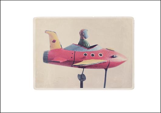Rocket Man - A3 Fine Art Print
