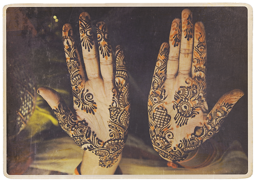 Any Time Collection T.K.F. - Mehndi Hands
