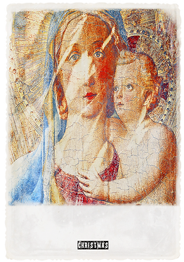 Xmas Collection -  The Virgin Mary & Baby Jesus