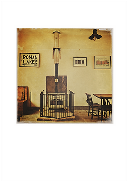The Roman Lakes Tea Room - A3 Fine Art Print