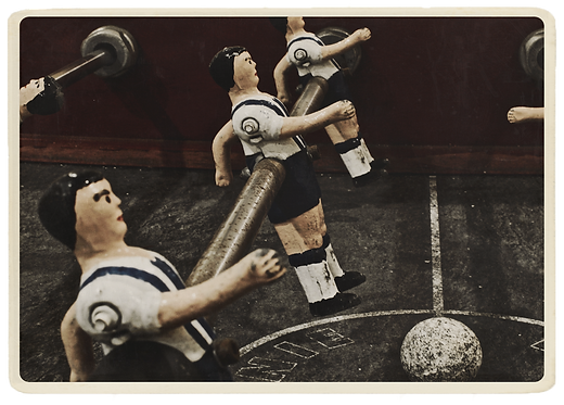 Any Time Collection T.K.F. - Antique Bar Football #1