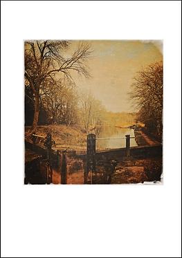 Lock #2 - A3 Fine Art Print