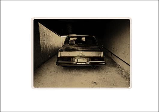The Mercedes - A3 Fine Art Print