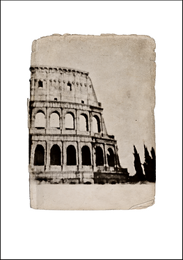 Colosseum Rome -  A3 Fine Art Print