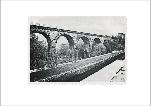 Viaduct & Aqueduct - A3 Fine Art Print