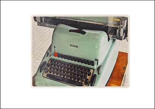 The Typewriter - A3 Fine Art Print