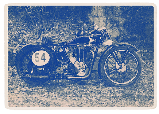 Any Time Collection T.K.F. - Vintage Motorbike