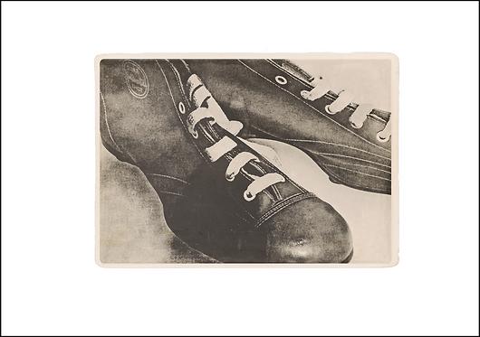 Tom's Old Football Boots - A3 Fine Art Print