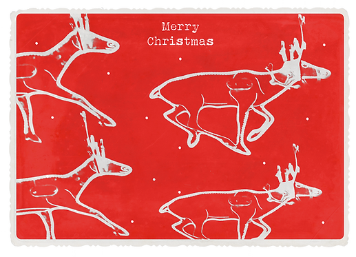 Xmas Collection - Flying Reindeer