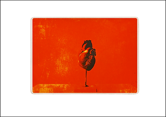 From the Heart - A3 Fine Art Print