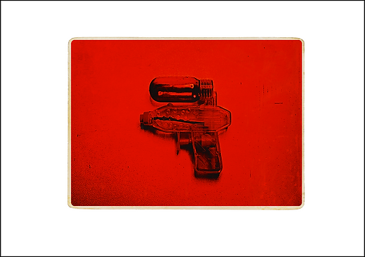 Water Pistol - A3 Fine Art Print