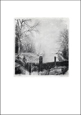 Canal Lock #2 - A3 Fine Art Print