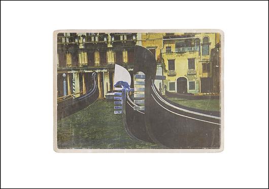 Gondolas - A3 Fine Art Print