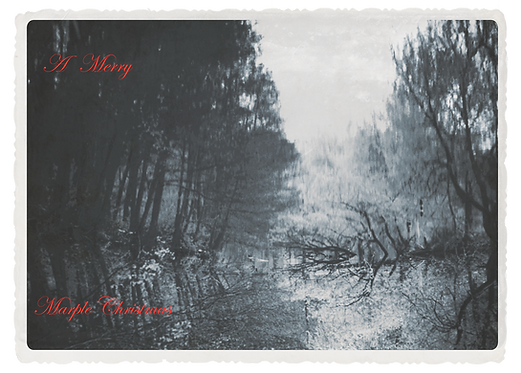 Marple Xmas Collection - Reflections in the Lake