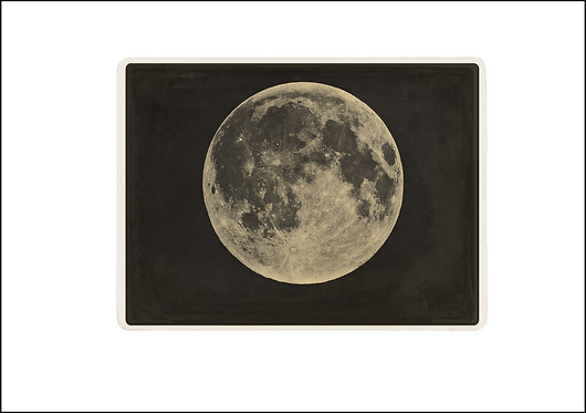Love you to the Moon & Back - A3 Fine Art Print