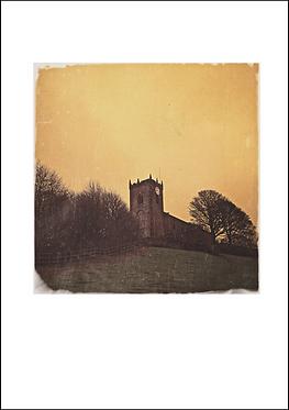 Mellor Church - A3 Fine Art Print