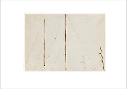 Sailing Boat Sails - A3 Fine Art Print