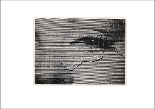 Marilyn's Eye - A3 Fine Art Print