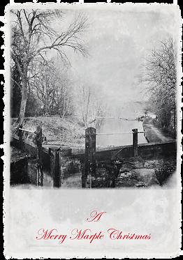 Marple Xmas Collection - Canal Lock #2