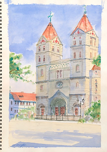 Cathedral Study No.1