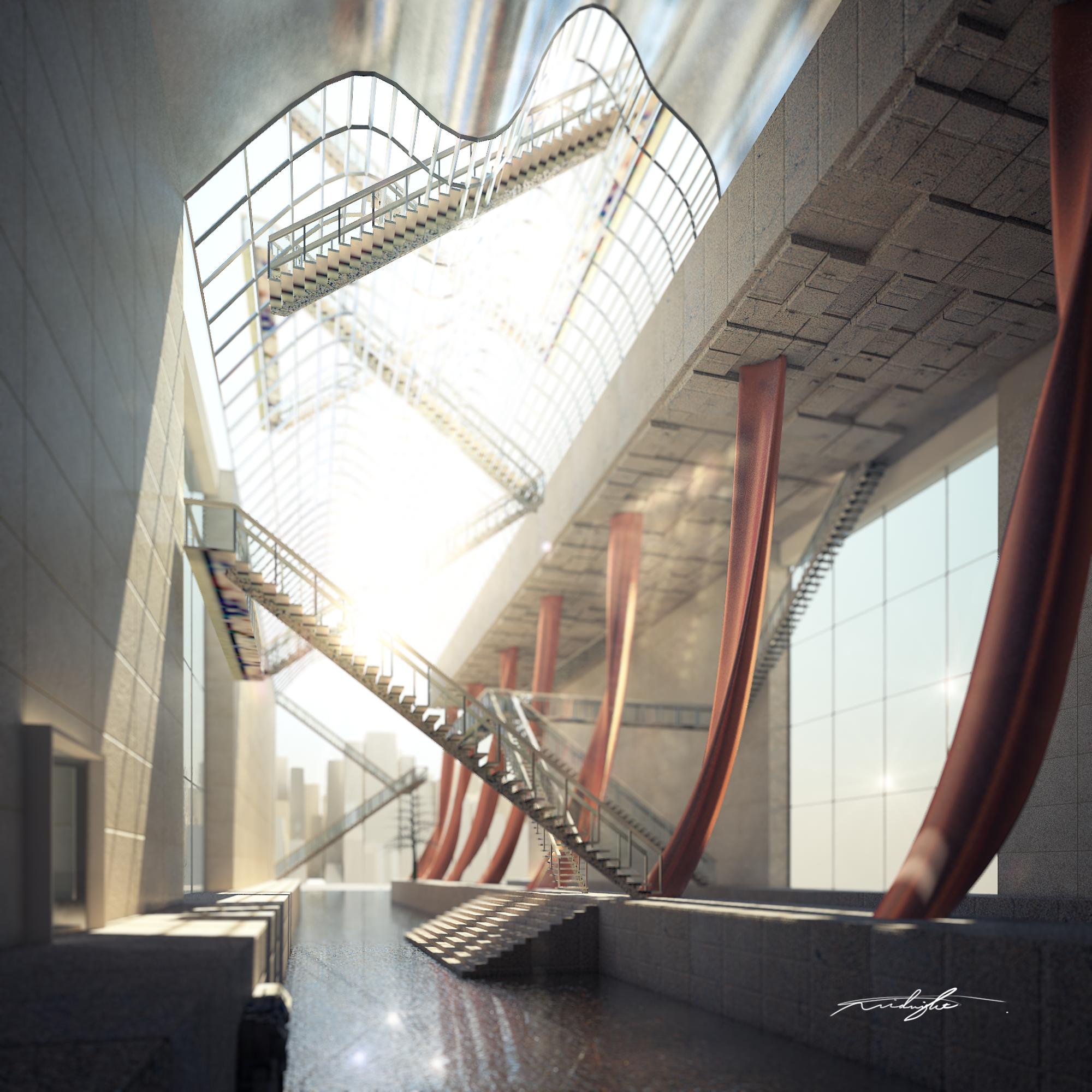 Dreamscape #1 Train Station