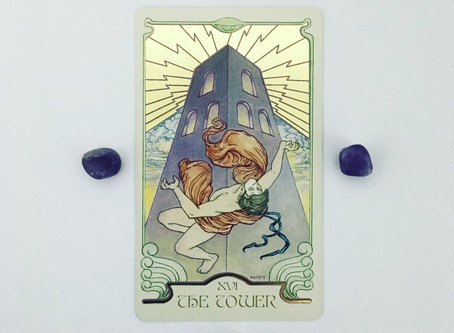 Mindful May Tarot: The Tower