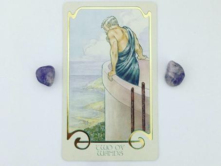 Mindful May Tarot: 2 of Wands