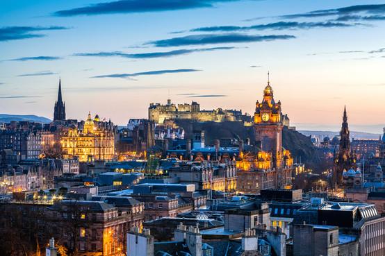 Edinburgh evening