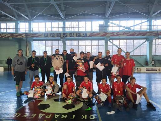 В столице ДНР завершился Республиканский турнир по флорболу
