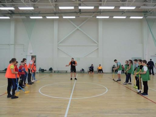 В Сокольниках состоялся турнир по флорболу