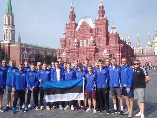 Молодые эстонцы едут на Чемпионат мира